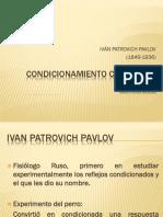 Condicionamiento Clásico de Pavlov