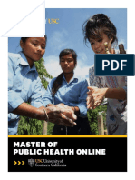 USC MPH Brochure