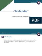 BEBIDAS BARTENDER