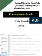 Aula - Solo e Poluiçao Quimica