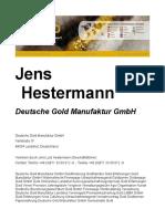 Jens Hestermann Erfahrungen