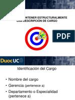 Descripcion Cargo
