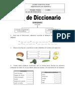 Grado 2 Logro 10 - Reconozco Uso Del Diccionario
