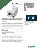 Epson Tm h6000iv Datasheet Es