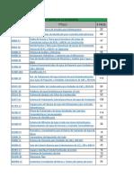 246632718 Lista de Normas de Referencia Especificaciones de CFE y PEMEX