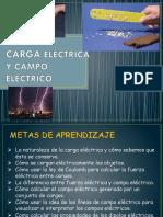 Carga Eléctrica y Campo Eléctrico