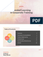 Blemded Learning Text
