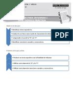 59-LP - MÓDULO ESCRITURA 10 - Primero Medio - Escribir Para Informar 1 - Guía