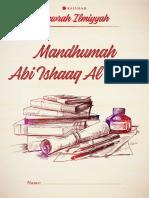 Mandhūmah Abī Isḥāq Al-Ilbiri