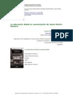 La Educacion Desde La Comunicacion Jesus Martin Barbero - Copia