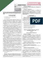 Decreto Supremo N° 150-2019-PCM (Peruweek.pe)