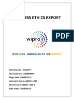 Business Ethics Report