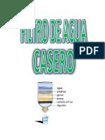 Monografia Purificador de Agua Casero