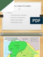 Conflicto Con Ecuador