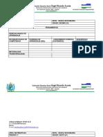 Plan de Estudios Filosofia 10 y 11