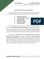 PROCEDIMIENTOS Y SISTEMAS DE SEGURIDAD