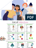 Adjectives and Physical Appareance