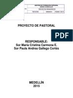 Proyecto Pedagógico de Pastoral