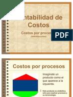 Costos Por Proceso