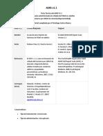 ASRS-V1.1 TDAH en Adultos