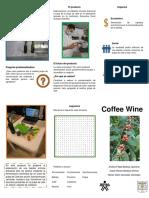 Plegable Coffee Wine español