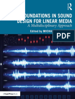 Foundations in Sound Design for Linear Media - A Multidisciplinary Approach
