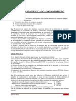 Guia 2013 - Regimen Simplificado - Monotributo