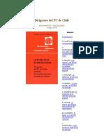 Los1000 Dias de La Revolucion en Chile Dirigentes Del PC de Chile