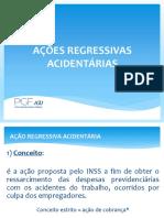 Apresentação - Ações Regressivas - FUNDACENTRO ABRIL 2019 (1)