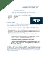 Memoria Descriptiva Psitas,Veredas,Sardineles y Areas Verdes111