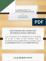 La Jurisdicción y La Competencia Internacional