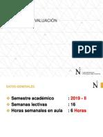 Sistema de Evaluación - Fisica _h_2019_2