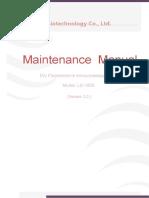 LS 1000 Maintenance Manual