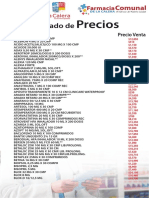 Lista FarmaciaComunal
