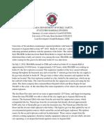 UNR Investigation Summary