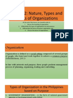 Organization and Management Chapter 2 Part 2
