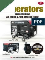 Toyo Denki generator