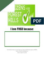 I love FHSD