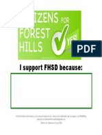 I Support FHSD