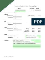 MSA Worksheet