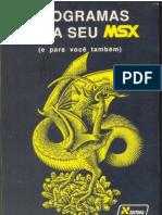 Programas Para Seu MSX