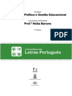 Impresso LLPT Estrutura Politica e Gestao Educacional