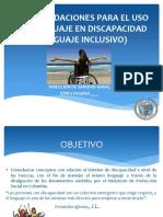 RECOMENDACIONES PARA EL USO DEL LENGUAJE EN DISCAPACIDAD.pptx