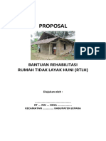 Proposal RTLH