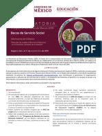 Convocatoria Beca Serv.social Memoria Agn 2019