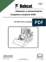 MANUAL MINICARGADORA BOBCAT S450.pdf
