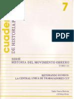 Cuaderno de Historia Popular 7