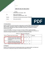 APC-DSL-001 Informe Evaluacion Sistema de Iluminacion PTAR 3000