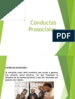 Conductas prosociales