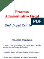 Processo Administrativo Fiscal PAF Aula 1 Master 1